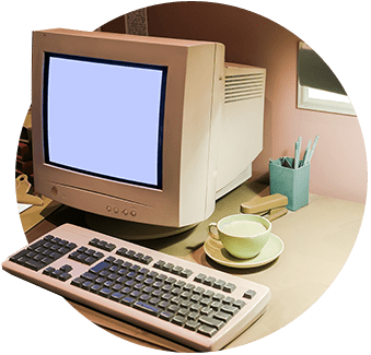 Old IT computer